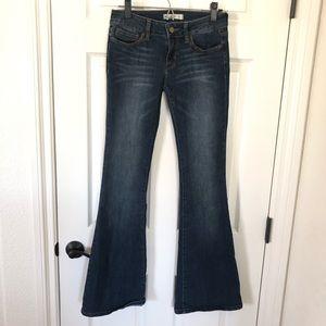 Bullheaded Black flair jeans sz. 5